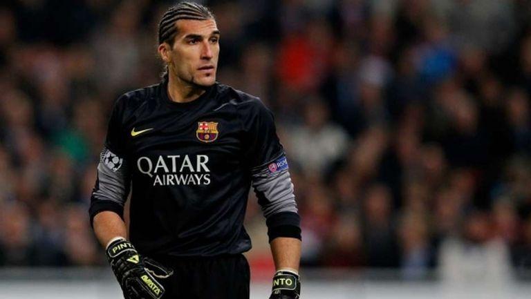 Бивш вратар на Барселона стана бодибилдър (снимка)