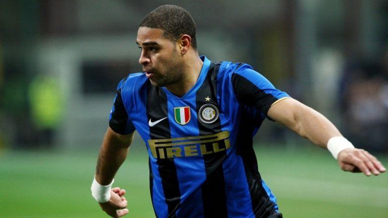 Адриано: Когато дойдох в Интер, Роналдо ме попита дали искам да живея при него
