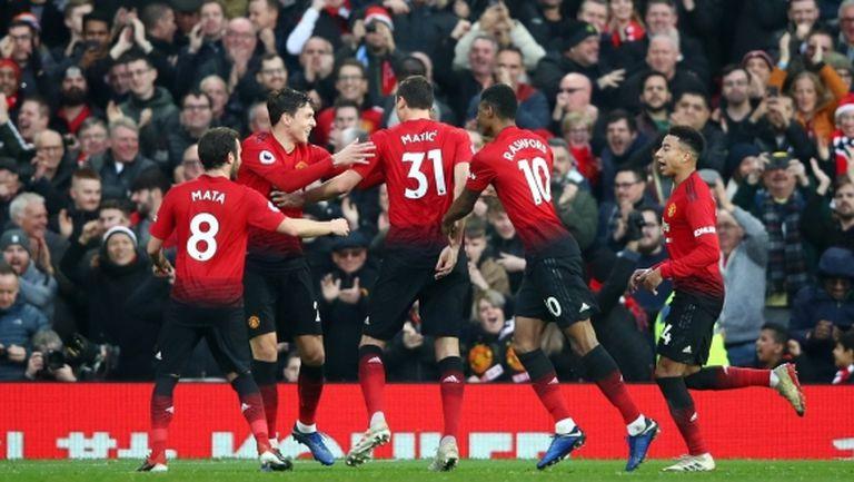 """Солскяер се завърна на """"Олд Трафорд"""" с нова победа, Юнайтед сломи съпротивата на Хъдърсфийлд"""