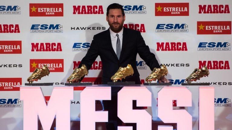 """Меси: Знаех, че няма да бъда номиниран за """"Златната топка"""""""