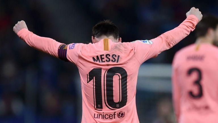 Меси е пред гол №400 в Ла Лига