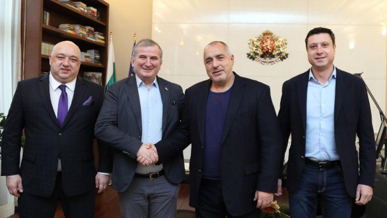 Борисов и Кралев се срещнаха с турнирния директор на  Sofia Open Горан Джокович