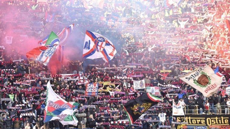 Напрежение на Апенините: Ултраси на Болоня атакуваха автобус с фенове на Торино