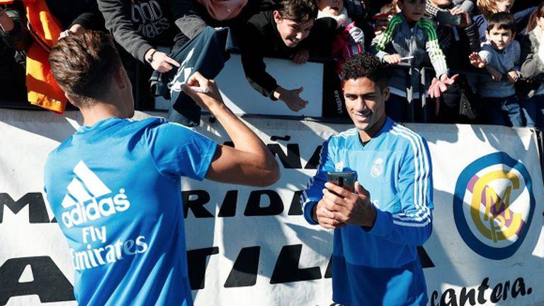 В Реал Мадрид спазиха традицията преди Нова година