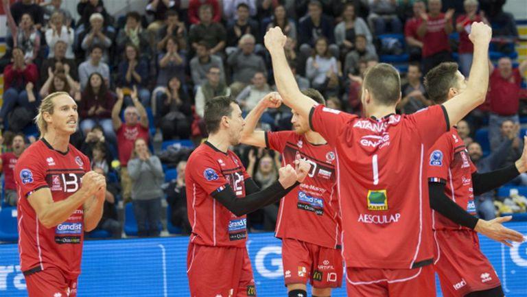 Мартин Атанасов заби 15 точки и класира Шомон за 3-ия кръг в Шампионската лига