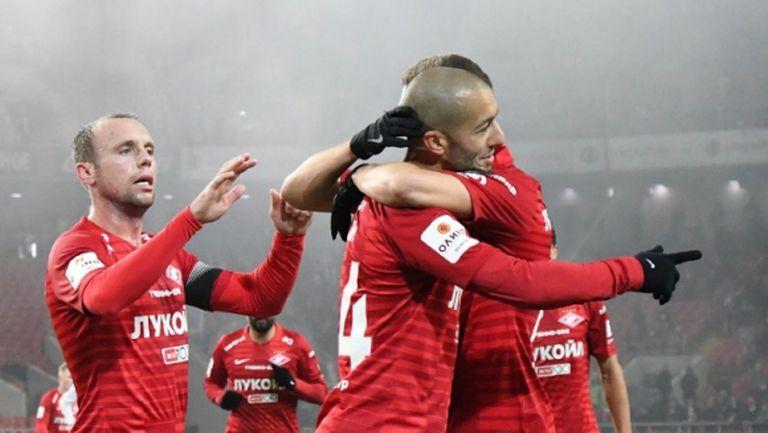 Спартак (Москва) се класира на 1/4-финал за Купата на Русия, Ивелин Попов влезе в края