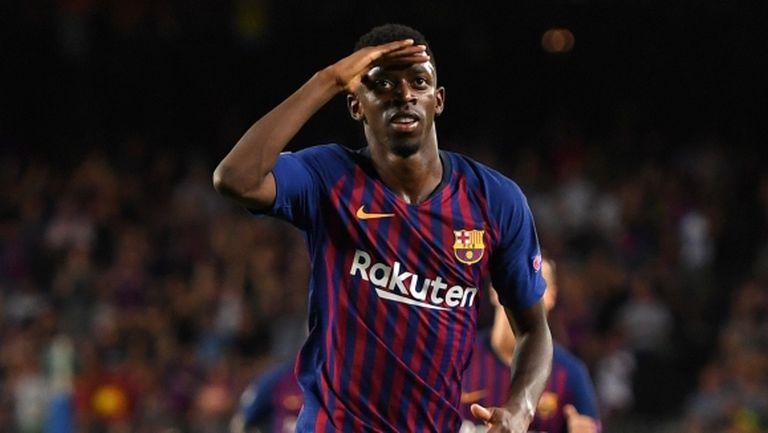 Ливърпул пита Барселона за Дембеле