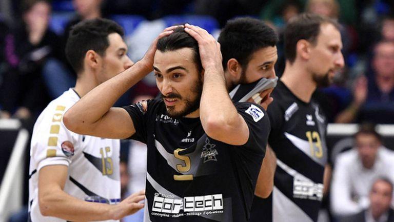 Краси Георгиев игра силно, но Рен не спря Поатие (видео)