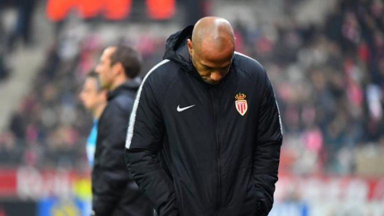Тиери Анри вече е притеснен за Монако