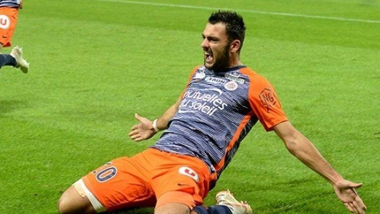Монпелие разгроми Олимпик Марсилия, излезе втори в Лига 1