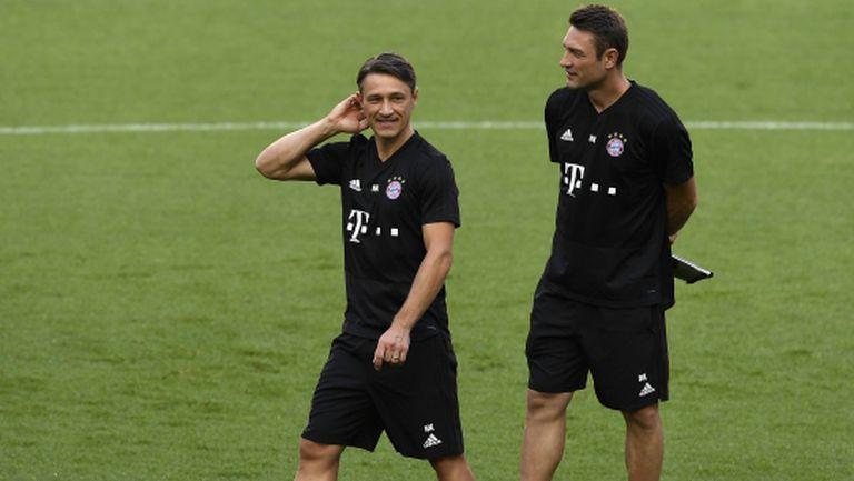 Kicker: В Байерн се оформи група срещу Ковач, но той остава и при загуба в дербито