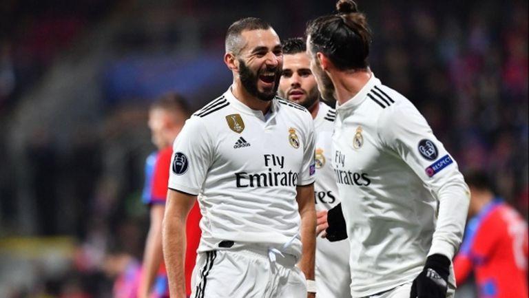 Реал Мадрид се отприщи и головете заваляха (видео+галерия)
