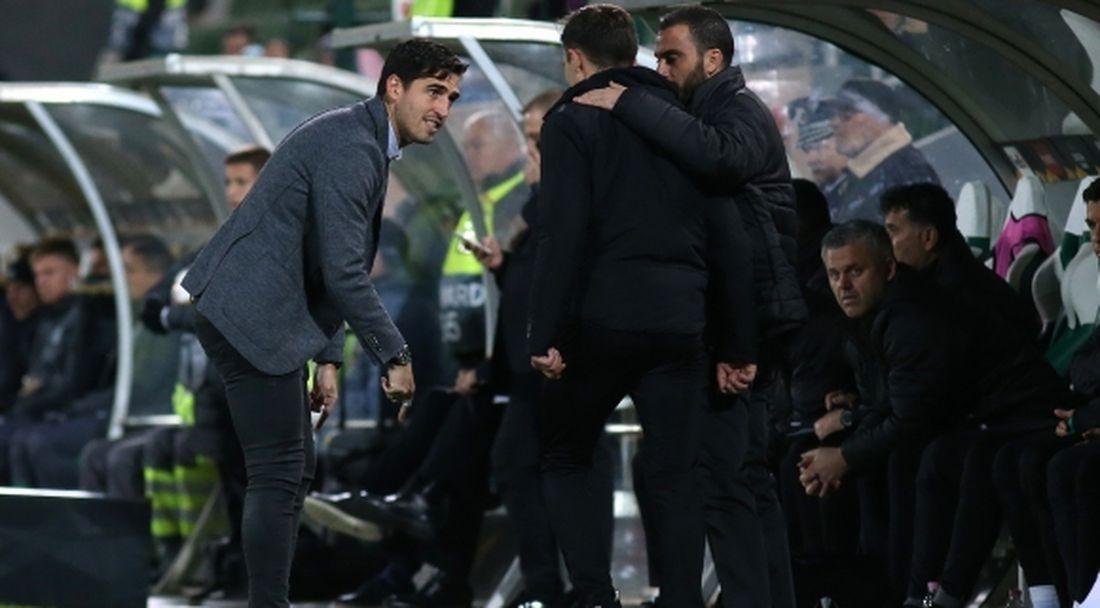 Треньорът на АЕК: Някои футболисти на Лудогорец трябваше да получат картони