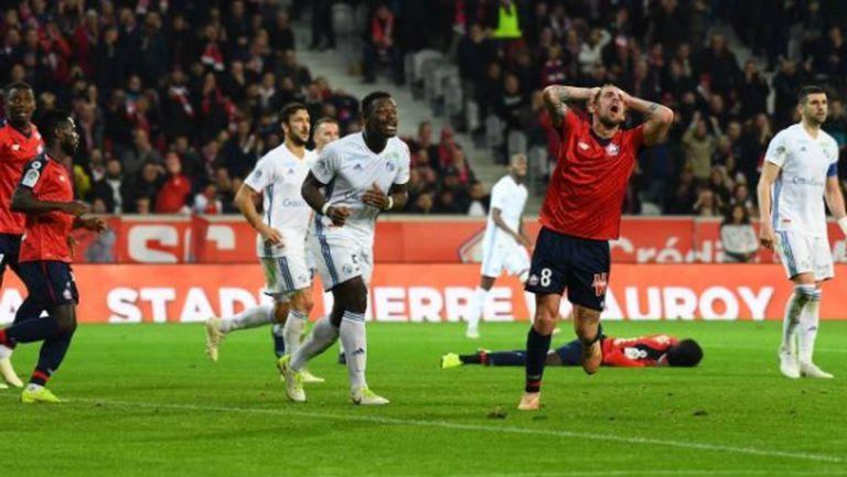 Страсбург спря победната серия на Лил у дома
