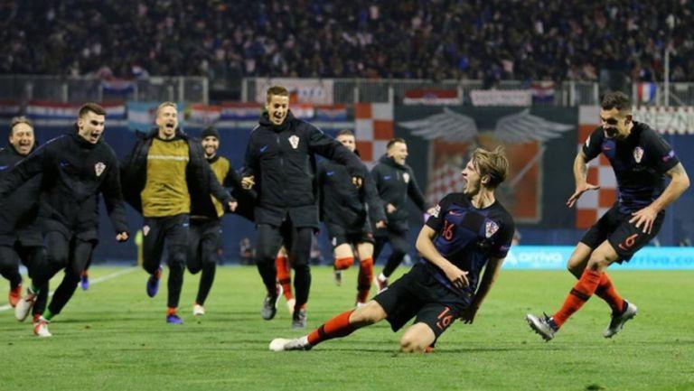 Луда вечер в Загреб! Хърватия съсече Испания след едно полувреме, което ще влезе в историята! (видео)