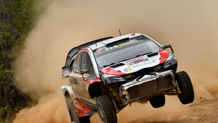 От Танак поведе на рали Австралия, Ожие все по-близо до титлата във WRC