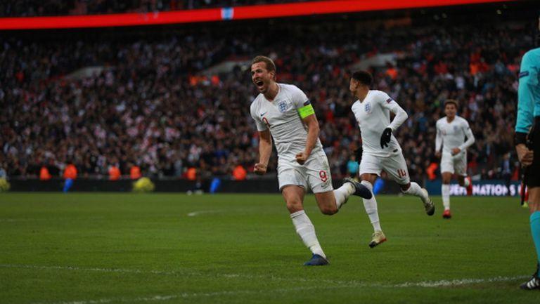 """Драма и страхотен обрат на """"Уембли""""! Англия ликува, сълзи за Хърватия (видео + галерия)"""