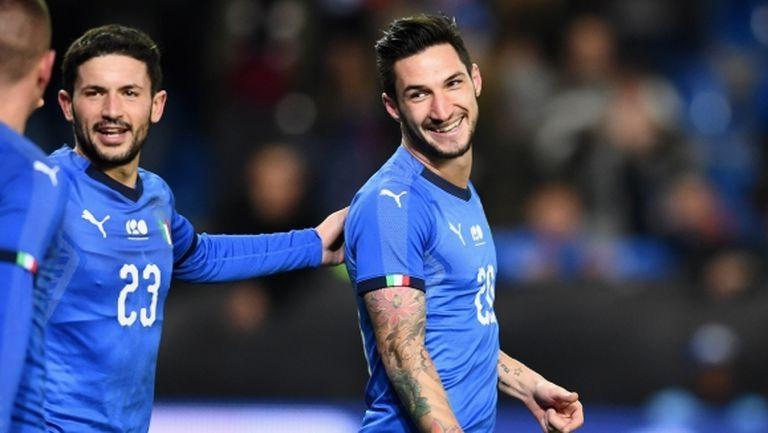 Италия повали САЩ с гол в последните секунди (видео)