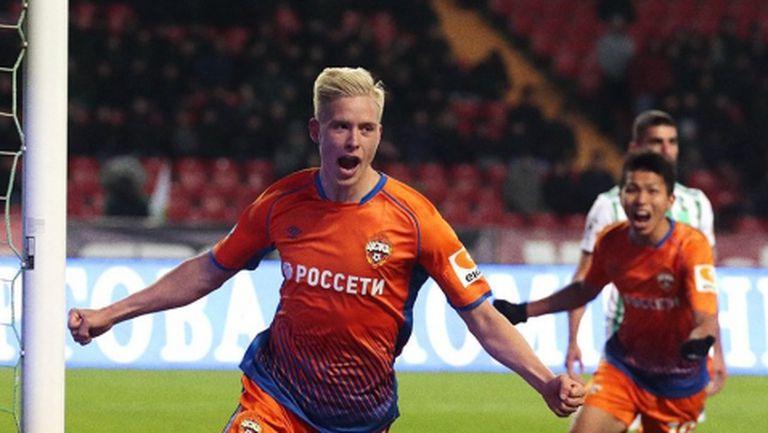 ЦСКА (М) се справи с Ахмат като гост