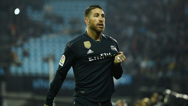 УЕФА отрече за допинг на Серхио Рамос