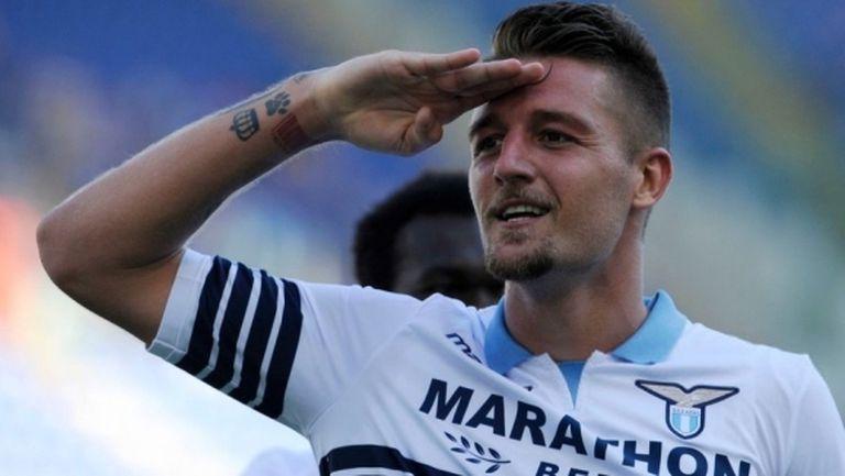 Лацио отхвърлил оферта на Милан за Милинкович-Савич