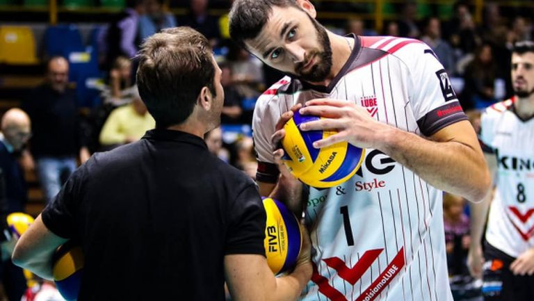 Цецо Соколов и Лубе стартират срещу СКРА Белхатов на Световното клубно първенство