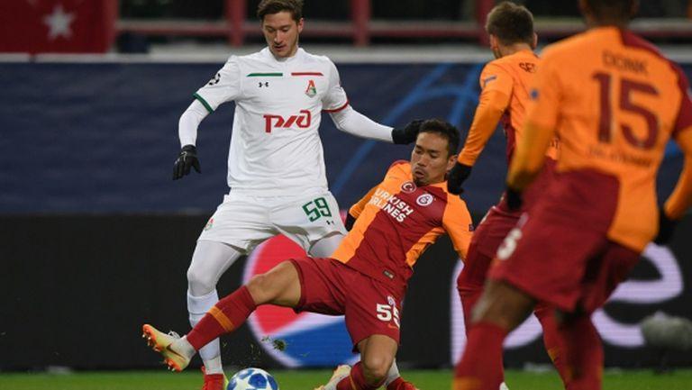 Футболист на Галатасарай се оплака от студа в Москва