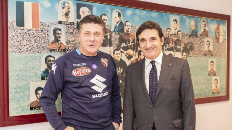 Валтер Мадзари се връща на пейката на Торино