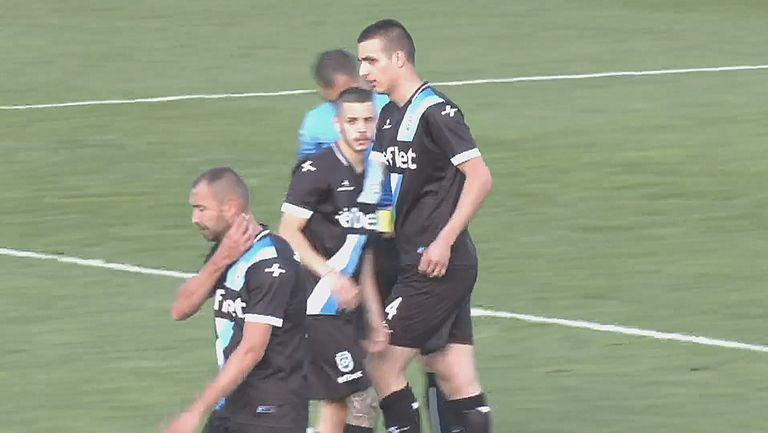 Резервата Яновски бе на точното място, за да вкара трети гол във вратата на Металург