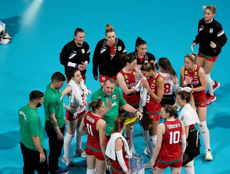 Златна европейска лига: България - Украйна 3:0