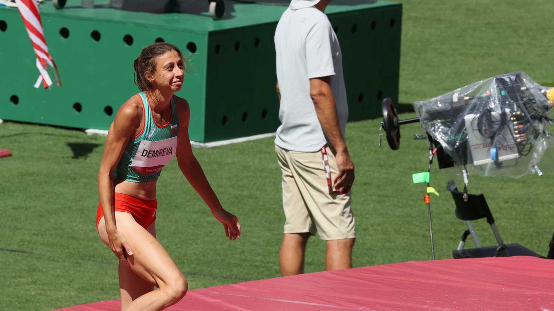 Мирела Демирева се класира за олимпийския финал в скока на височина