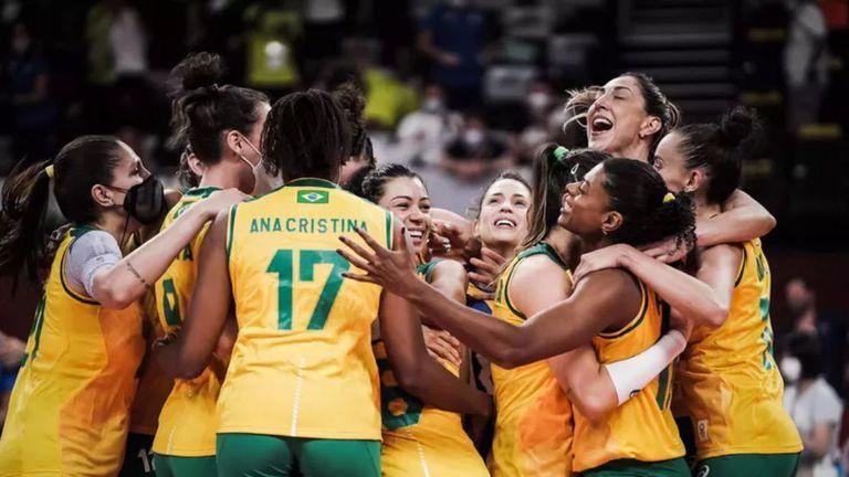 Бразилия пречупи руските волейболистки и е на полуфинал