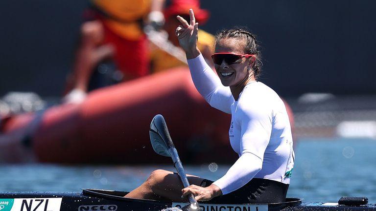 Лиса Карингтън спечели третата си титла на Олимпийските игри в Токио