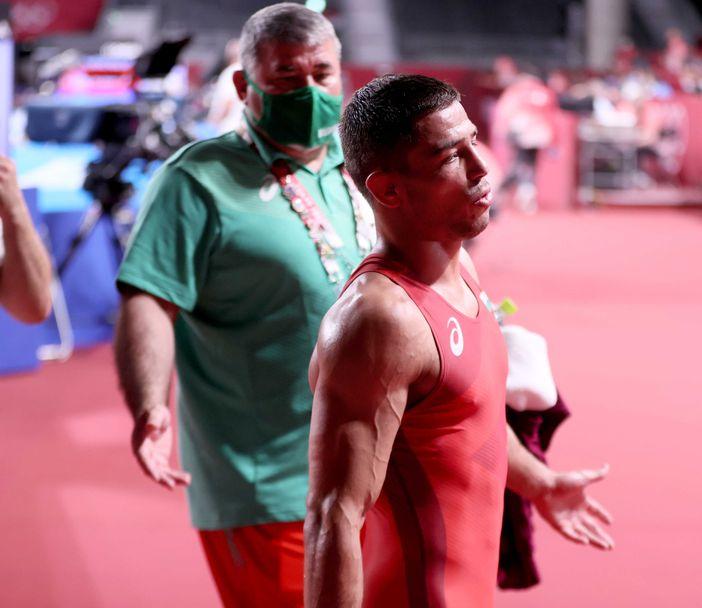 Георги Вангелов загуби мача за бронзовия медал в категория до 57 кг в Токио