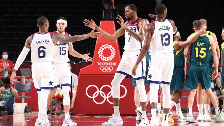 Звездният тим на САЩ прегази Австралия с 97:78 и ще играе за четвърта поредна олимпийска титла