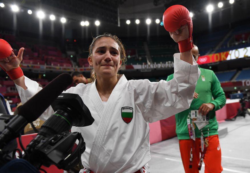 Ивет Горанова със златен медал в Токио 2020🥇