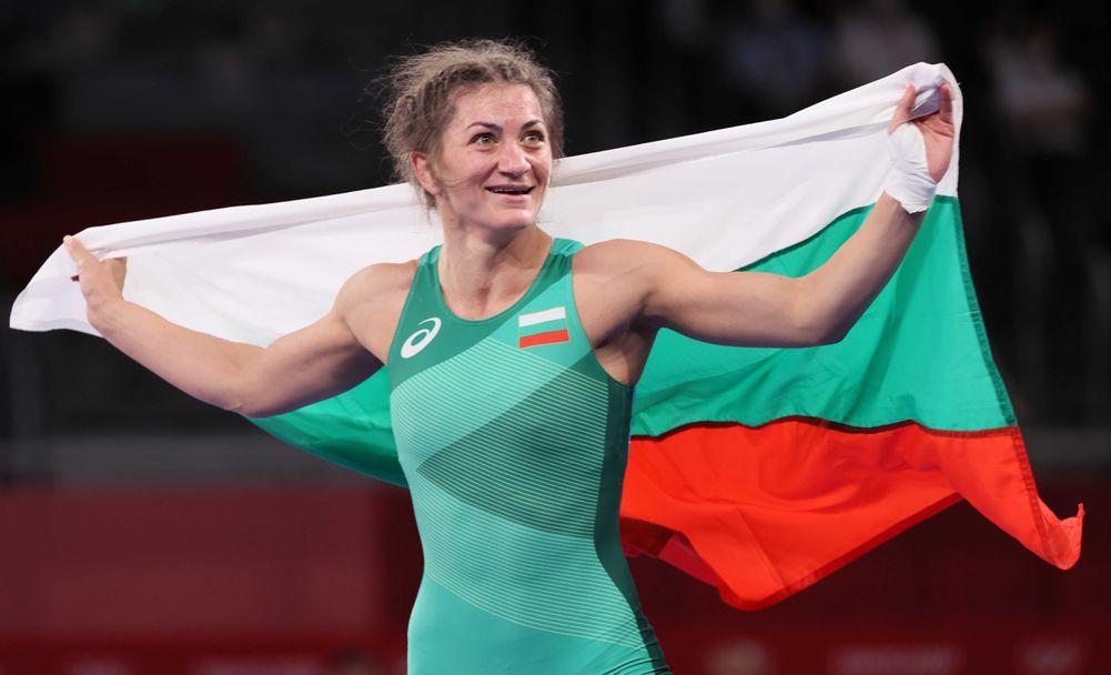 Евелина Николова с бронзов медал от Олимпийските игри в Токио 2020🥉