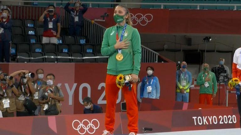 13 години по-късно българският химн отново звучи на олимпийски игри