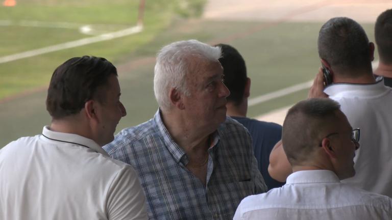 Крушарски и Христо Бонев наблюдават срещата между Локо (Пд) и Копенхаген