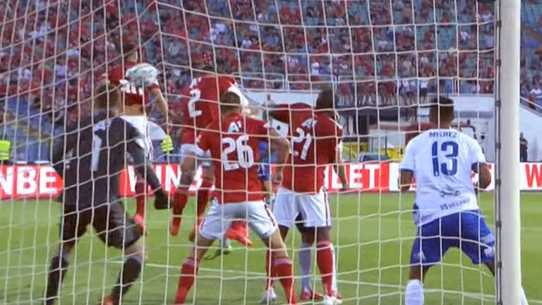 Гостите от Хърватия бързо се върнаха в мача, Шкорич вкара с глава