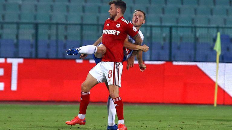 2:0 за ЦСКА - София, Кери се разписа с глава след перфектно центриране на Турицов
