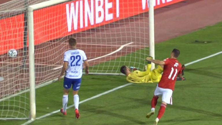 В 74-ата минута  Георги Йомов направи резултата 4:1
