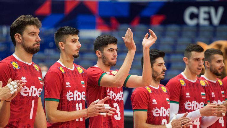 Евроволей 2021: България - Чехия 3:2 🏐