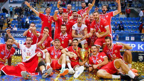 Радослав Парапунов заби 24 точки и изведе Войводина до Суперкупата на Сърбия