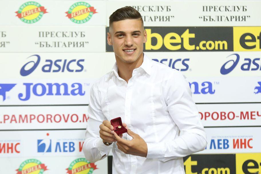 Кирил Десподов бе избран за футболист на месец Юли