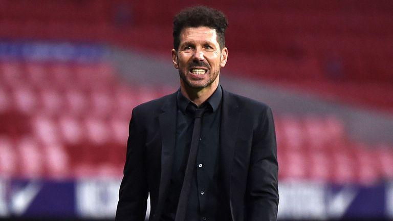 Атлетико ще възнагради Диего Симеоне за спечелената титла