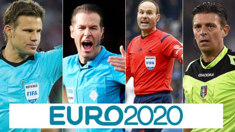 Съдии на Евро 2020