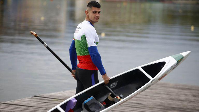 Ангел Кодинов остана на по-малко от половин секунда от отличие на Европейското по кану-каяк