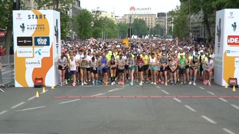Близо 5000 души взеха участие на маратона в Белград