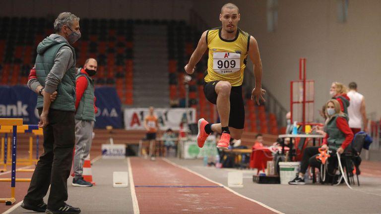 Георги Цонов защити титлата си в тройния скок